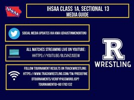 Riverside to Host 1A Sectional Wrestling Saturday February 6, 2021