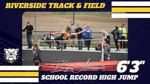 Riverside Track & Field-New School Record