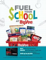 "Hy-Vee Launches ""Fuel Your School"" Campaign for Iowa Schools"