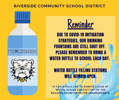 Bring Your Water Bottle!!