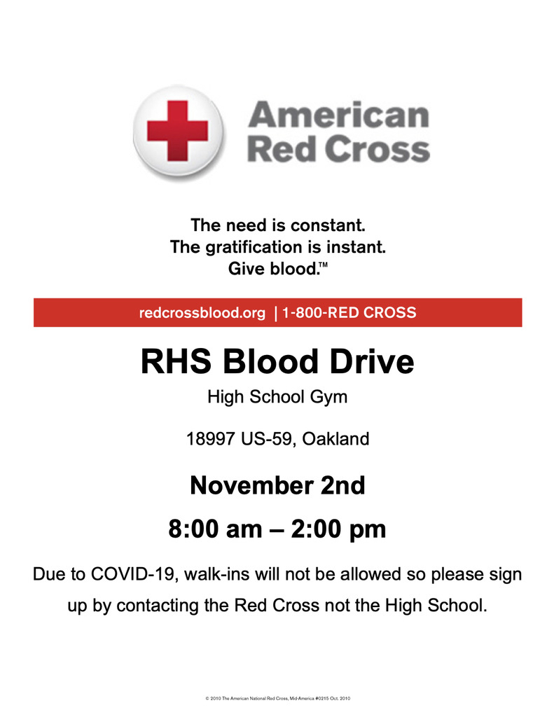 Blood Drive today